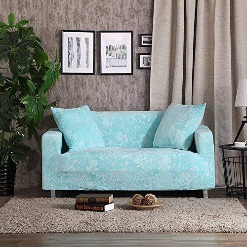 BAIF Relief Bestickter Sofabezug Schonbezüge Universal-Stretch Große elastische Sitzfläche Schonbezüge Loveseat Funiture (90-300cm), Tiffany, 3-Sitzer 185-230cm