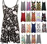 Search : mafhh55® NEW WOMENS LADIES SLEEVELESS STRAP PLAID CAMI SWING VEST TOP PLUS SIZE DRESS 8-26