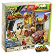 The Trash Pack Wheels Blazing Fire Station Playset