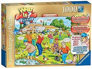 Ravensburger What IF? No.18 - Puzzle de 1000 Piezas, diseño de Golf fantasía