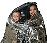 #8: Como Water Proof Emergency Survival Rescue Blanket Foil for Emergency/Camping/Hiking/Trekking/Raining/Travel