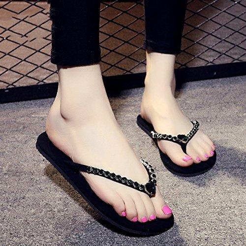 Estate Sandali Pistoni femmina casuali del diamante di 1cm con 8 colori Colore / formato facoltativo #4