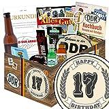 17. Geburtstagsgeschenk | Männer Geschenke | Geschenkideen | Geschenkidee 17 Jahrestag | mit Pfeffi Likör, Kondomen, Bier und mehr | mit Pfeffi Likör, Kondomen, Bier und mehr