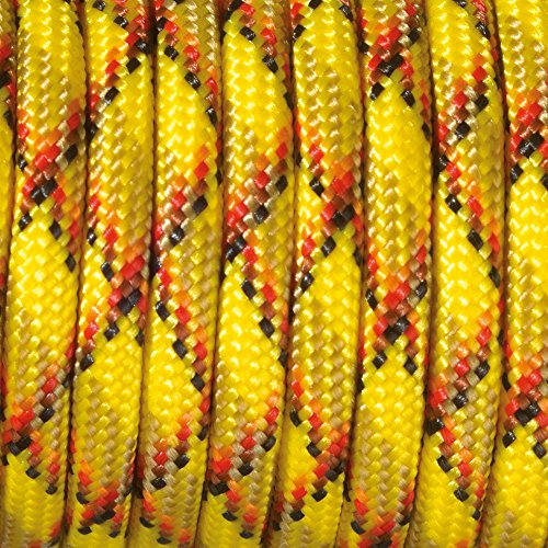 Paracord 4 x 50 mm Multicolore, jaune/marron