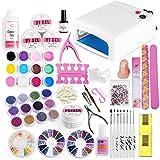 Coscelia Kit de Nail Art 36W Lampe 12 Couleurs Gel UV...
