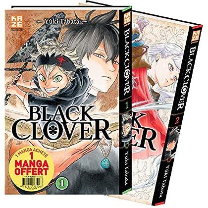 Black Clover - Pack Découverte T01 & T02