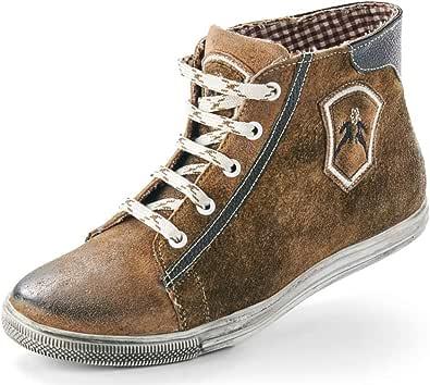 Maddox Damen Trachten Schuhe Hohe Sneaker Victoria Wood Nappato Gr. 36 42