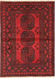 CarpetVista Afghan Teppich 101x142 Orientalischer Teppich