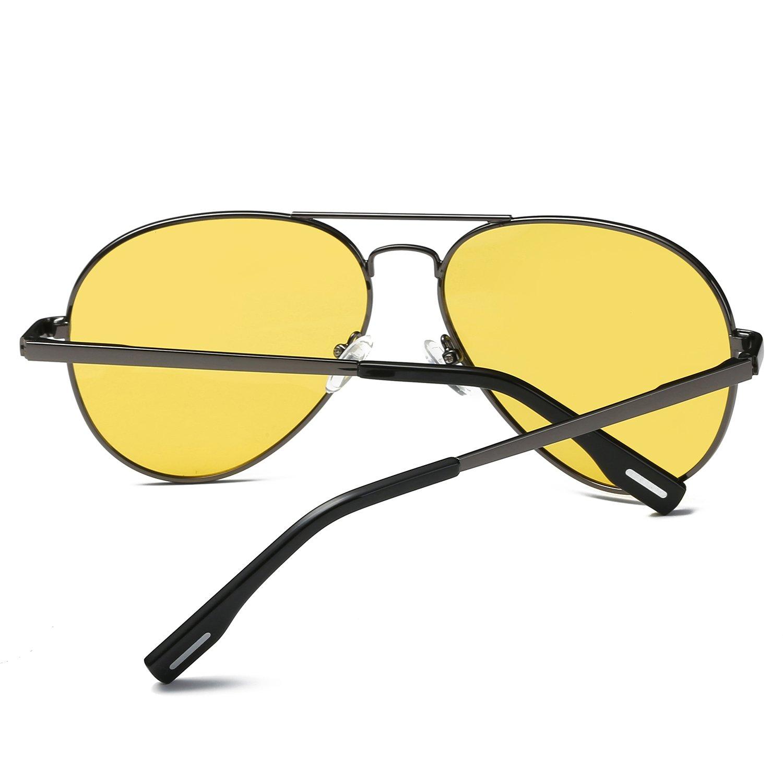 5a0d69ced4 AMZTM Clásico Moda Polarizadas Aviador Gafas De Sol De Mujer Y ...