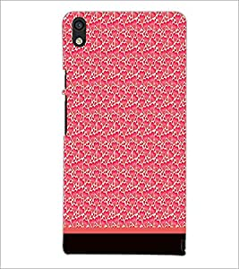 PrintDhaba Heart Pattern D-1905 Back Case Cover for HUAWEI ASCEND P6 (Multi-Coloured)