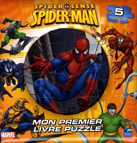 Spider-Sense Spider-Man : Mon premier livre puzzle