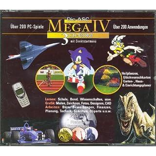 Die ASC MEGA IV - 3 CD-ROMs
