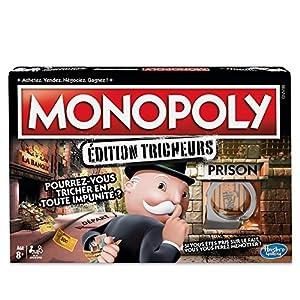 Monopoly Hasbro Gaming Tricheurs-Juego de Tablero-e1871
