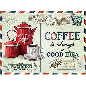 caffè è Sempre Una buona Idea Metal Sign