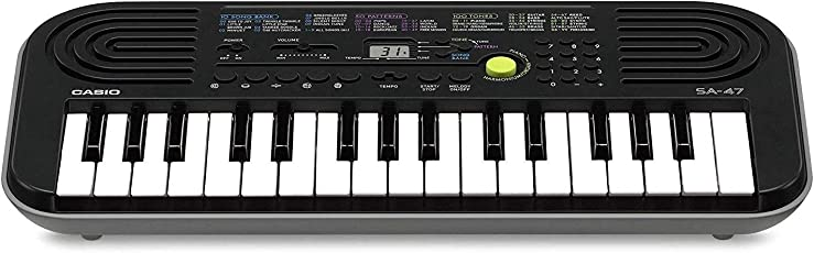 Casio Portable Electronic KeyBoard SA-47A with Free Adaptor worth INR 300