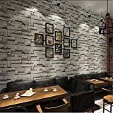 Wallpaperbrick Like Pattern Wallpaper 3D Stereoscopic Vintage Brick Salon, Hairdressing Shop, Coffee Shop, Tv Background Wallpaper, Brick