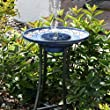 TWIFER Outdoor Solar Powered Bird Bath Water Fountain Pump For Pool, Garden, Aquarium