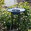 TWIFER Outdoor Solar Powered Bird Bath Water Fountain Pump For Pool, Garden, Aquarium
