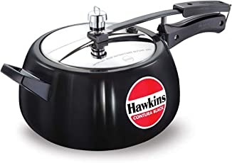 Hawkins Contura 5 Liters Hard Anodized Pressure Cooker by Mercantile International