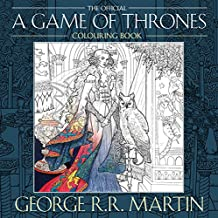 ‏‪The Official A Game of Thrones Colouring Book‬‏