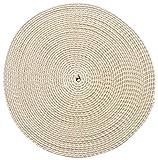 trimit 10mtr Rolle von 40mm ecru Baumwolle Gurtband