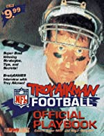 The Troy Aikman NFL Football Official Playbook Covers Super Nes and Sega Genesis! de BradyGames