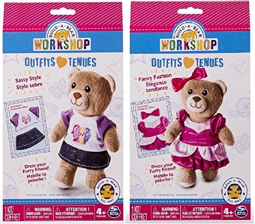 build-a-bear-workshop-outfit-bundle-sassy-stile-e-moda-fancy-2-componenti-in-dotazione-inviato-da-uk