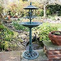 Kingfisher BB01 Dekoratives Vogelbad mit Tisch