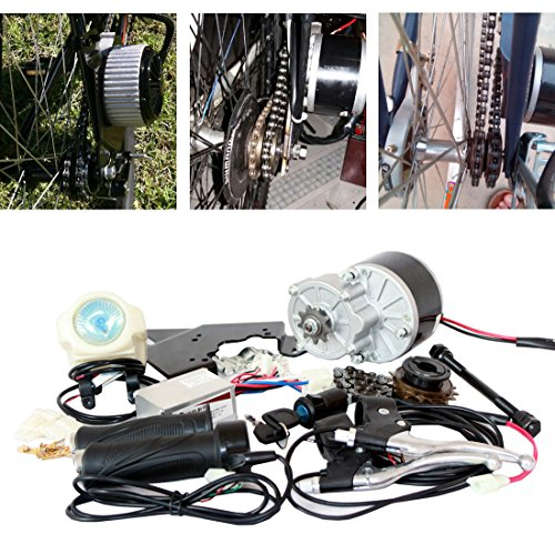 24V 250W ELECTRIC BIKE KIT DE CONVERSION E-BIKE KIT ELECTRIC SCOOTER VÉLO GNG MOTEUR ELECTRIQUE...