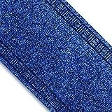 Floori Küchenläufer | strapazierfähiger Teppich Läufer für Küche, Flur uvm. | Flurläufer in vielen Größen wählbar | 66x2500 cm | blau
