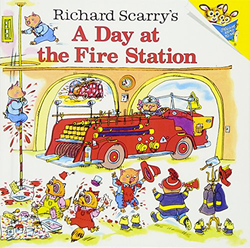 A Day at the Fire Station (Richard Scarrys)