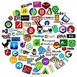 72 stickers pour ordinateur portable pour la programmation du développeur geeks ingénieurs hackers UK