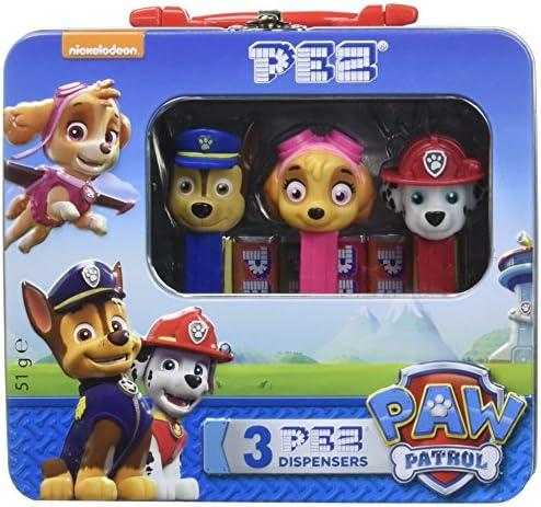 PEZ Valisette de 3 Distributeur/Recharges Pat Patrouille 51 g | Divers Les Types Et Les Styles