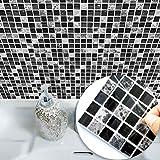 Ridioo 15 * 15cm Imitation Marbre Meubles PVC Imperméable À L'eau Auto-Adhésif Papier Peint Cuisine Salle De Bains Mosaïque Carrelage Autocollant Wall Art (10pcs)