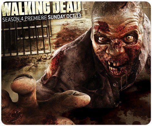 Preisvergleich Produktbild 2013 The Walking Dead Season 4 Slip Mouse Pad, Rectangle Mousepad Customized by The Micase