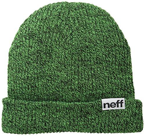 Neff Mütze Fold Heather, Black/Slime, One size, NF00008