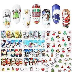 Christmas Pegatina de u as...