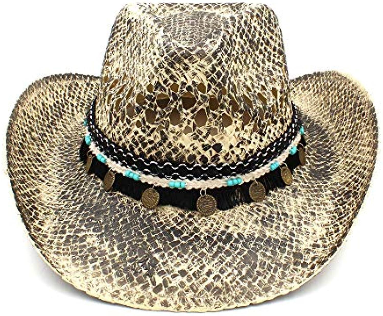 Y-WEIFENG New Cappello da da Cowboy Western Hat da Cappello Donna ... eaa662b4401d