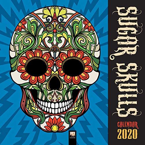 Sugar Skulls - Totenköpfe aus Zucker 2020: Original Flame Tree Publishing-Kalender [Kalender] (Wall-Kalender) -