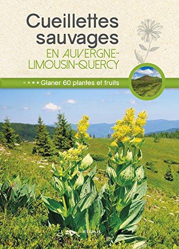 Cueillettes sauvages en Auvergne-Limousin-Quercy : 60 plantes et fruits  glaner