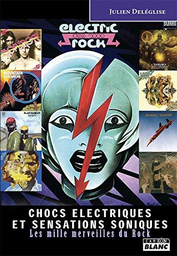 Chocs électriques et sensations soniques, les mille merveilles du rock par Julien Deleglise