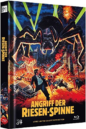 Angriff der Riesenspinne - Uncut/Mediabook (+ DVD) (+ CD-Soundtrack) (+ Bonus-Disc) [Blu-ray] [Limited Collector's Edition]