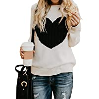 Maglione Donna Felpa Ragazza Sweatshirt Oversize Pullover Invernali Primavera Manica Lunga Casual Moda Girocollo Tops…