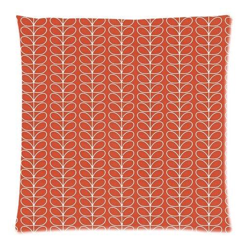 panbox Foglia Orla Kiely Stem 45,7x 45,7cm Throw Pillow Cover cuscino Custodia-2lati