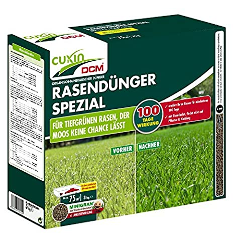 CUXIN DCM Rasendünger SPEZIAL MINIGRAN 3 kg