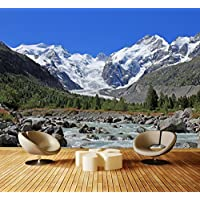 Fototapete Morteratsch Gletscher Alpen  Vliestapete Tapete