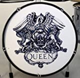 RGM328 Emblem Miniatur Schlagzeug RGM335 Queen Freddy Mercury/Brian May/John Deacon/Roger Taylor, Bohemian Rapsody A Night At The Opera Killer Queen Wir sind die Chamipons Show Must Go On