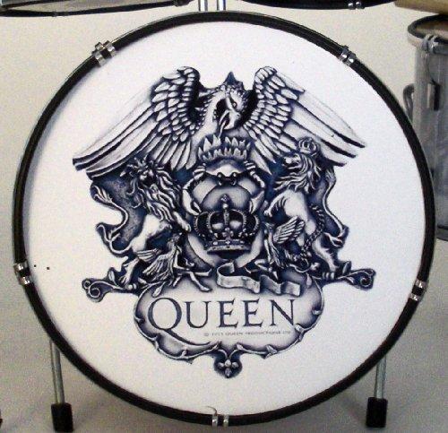 RGM328 Emblem Miniatur Schlagzeug RGM335 Queen Freddy Mercury/Brian May/John Deacon/Roger Taylor, Bohemian Rapsody A Night At The Opera Killer Queen Wir sind die Chamipons Show Must Go On