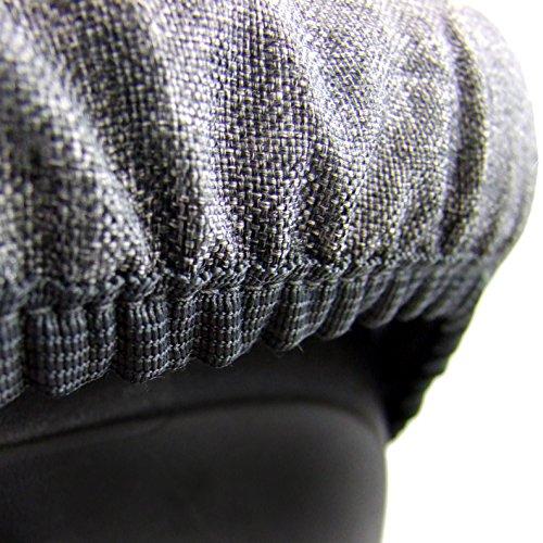 BambiniWelt Ersatzbezug für Maxi-Cosi CabrioFix 6 tlg. GRAU / MARINE *NEU* Bezug für Babyschale Sommerbezug Cabrio Fix - 6