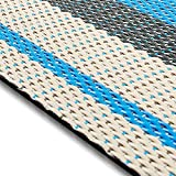 Design Bodenschutzmatte Ravenna in 6 Größen | dekorative Unterlegmatte für Bürostühle oder Sportgeräte (120 x 90 cm)